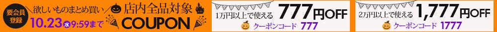 10/23までクーポン