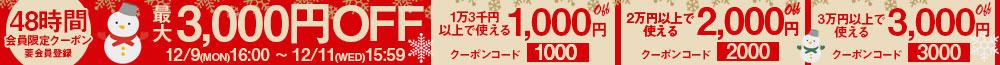 12/11までクーポン